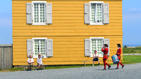 Fortress of Louisbourg Royalty Free Stock Images