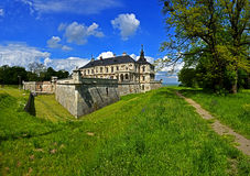 Fortress in Lviv. Pidhirtsi Castle is a residential castle-fortress located in western Ukraine, eighty kilometers east of Lviv. It was constructed between 1635 Royalty Free Stock Image