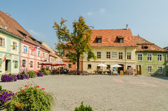 Fortress Main Square Stock Images