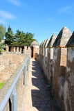 Fortress in Malaga, Spain Stock Photography