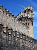 Fortress in Malaga,Spain Stock Photography