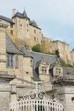 Fortress and mansions. Chinon. France Royalty Free Stock Images