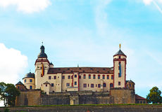 "Fortress Marienberg. The fortress ""Marienberg"" is one of the famous buildings of Wuerzburg, Bavaria, Germany Stock Image"