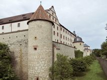 Fortress Marienberg Royalty Free Stock Photos
