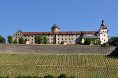 Fortress Marienberg  in Wurzburg, Germany Royalty Free Stock Images
