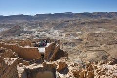 Fortress Masada, Israel Stock Images
