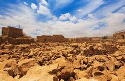 Fortress Masada, Israel Royalty Free Stock Photos