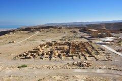 Fortress Masada, Israel Stock Photo