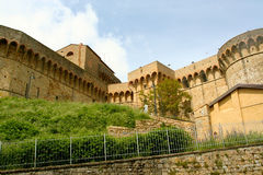 Fortress Medice Volterra Royalty Free Stock Photography