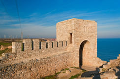 Fortress. A medieval fortress in Bulgaria Royalty Free Stock Image