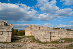 Fortress. A medieval fortress in Bulgaria Stock Photo