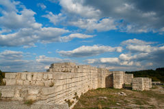 Fortress. A medieval fortress in Bulgaria Royalty Free Stock Photos