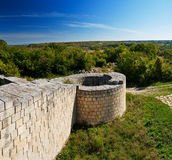 Fortress. A medieval fortress in Bulgaria Royalty Free Stock Images