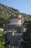 The fortress in the Mediterranean Old Town Royalty Free Stock Images