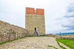 Fortress at Medvedgrad castle Royalty Free Stock Photography