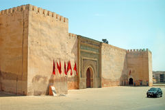 Fortress in Meknes Royalty Free Stock Photos