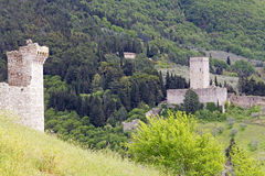 Fortress Minor, Assisi, Italy Stock Image