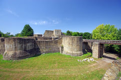 Fortress in Moldavia stock photography