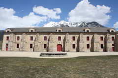 Fortress of Mont-Dauphin Stock Image