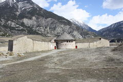 Fortress of Mont-Dauphin Royalty Free Stock Photos