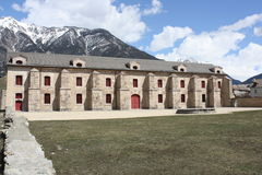 Fortress of Mont-Dauphin Stock Photo