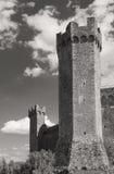 The fortress of Montalcino 1381, Siena, Tuscany Royalty Free Stock Photos