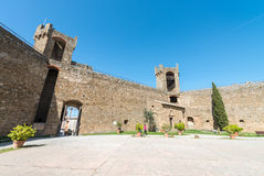 Fortress of Montalcino, Tuscany - Italy Royalty Free Stock Photo