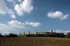 Fortress of Monteriggioni Royalty Free Stock Photo
