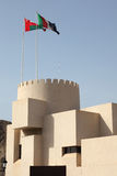 Fortress in Muscat, Oman Royalty Free Stock Images
