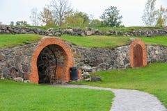Fortress Museum Korela in Priozersk Stock Image