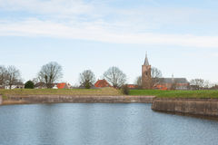 Fortress Naarden in Holland Royalty Free Stock Photography
