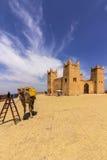 Fortress named Kasbah Ras el-Ain, in Asserdoun Stock Photography