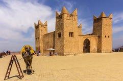 Fortress named Kasbah Ras el-Ain, in Asserdoun Royalty Free Stock Photo
