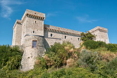 The fortress of Narni Royalty Free Stock Images