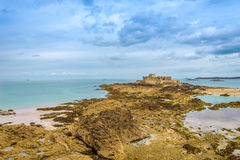 Fortress National near Saint Malo Royalty Free Stock Images