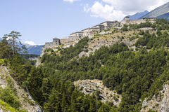 Fortress near Modane Stock Images