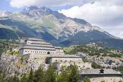 Fortress near Modane Royalty Free Stock Photos