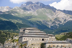 Fortress near Modane Royalty Free Stock Images