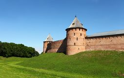 Fortress Novgorod Stock Image