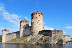 Fortress Olavinlinna Stock Photography