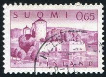 Fortress of Olavinlinna royalty free stock image