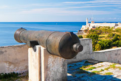 Fortress in Old Havana Royalty Free Stock Photos