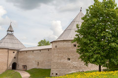 The fortress Old Ladoga Stock Images