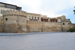 Fortress. Of the Old sity Baku Royalty Free Stock Image