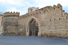 Fortress. Of the Old sity Baku Royalty Free Stock Photos
