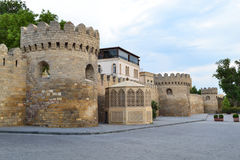 Fortress. Of the Old sity Baku Royalty Free Stock Photography