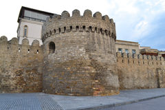 Fortress. Of the Old sity Baku Stock Photo