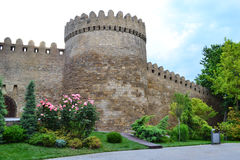 Fortress. Of the Old sity Baku Stock Photos