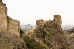 The fortress in the old Tbilisi Stock Images