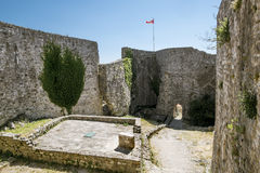 Fortress in the old town of Bar in Montenegro on a  summer day Royalty Free Stock Photos